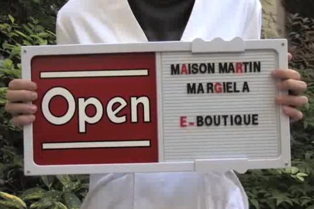 Maison Martin Margiela E-Boutique Opening