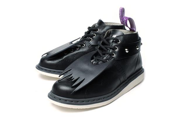 "MILK BOY ""Bat Wings"" Dr. Martens Custom Boot"