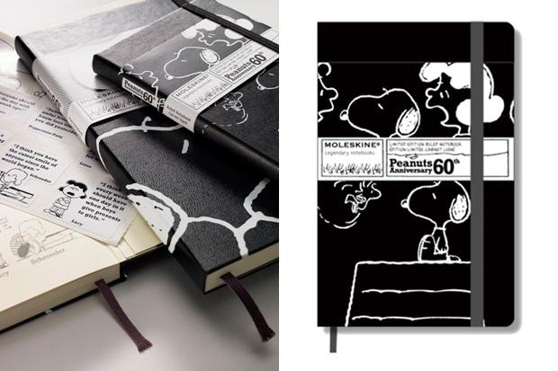 Moleskine x Peanuts 60th Anniversary Notebooks