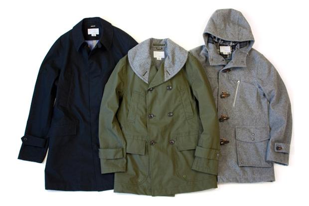 nanamica 2010 Fall/Winter GORE-TEX Collection