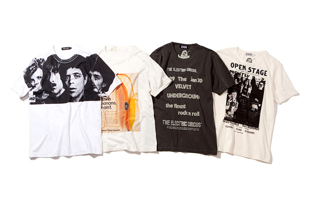 """The New York Art Of The Velvet Underground"" T-shirt Collection"