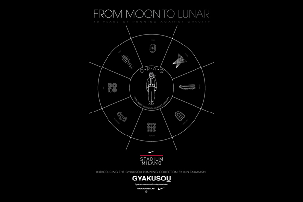 "Nike ""From Moon To Lunar"" Exhibition featuring Jun Takahashi"