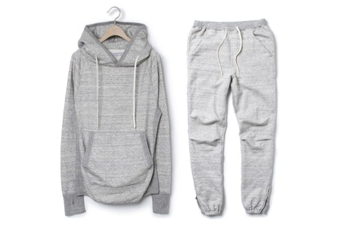 nonnative 2010 Fall/Winter Cotton Marble Sweatsuit