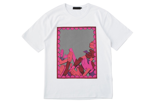 OriginalFake Reflection Clap T-Shirt