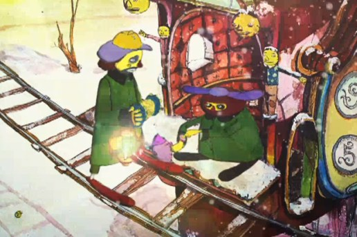 "Os Gemeos ""Its Snowing"" Animated Teaser"