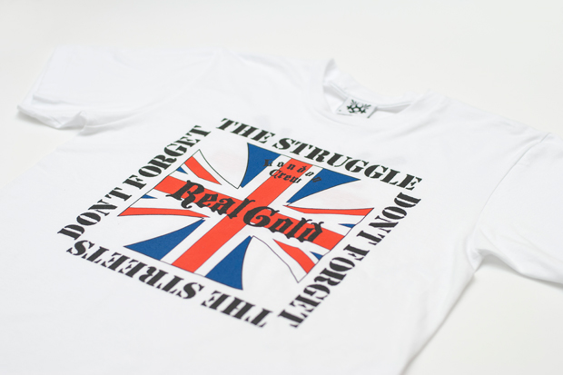 """Real Gold """"Don't Forget The Struggle, Don't Forget The Streets"""" Tee"""