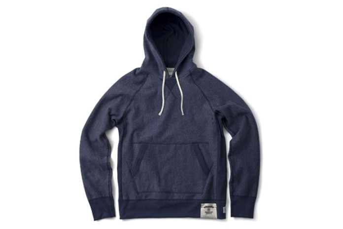 Reigning Champ Recycled Fleece Pull Over Hoodie
