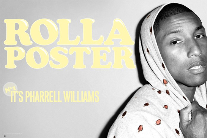ROLLACOASTER Issue No. 1 featuring Pharrell Williams