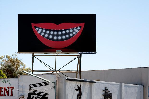 Sanford Biggers x UNDFTD Billboard Project