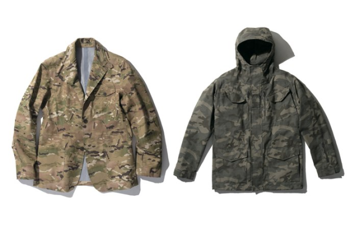 SOPHNET. 2010 Fall/Winter Camouflage Collection