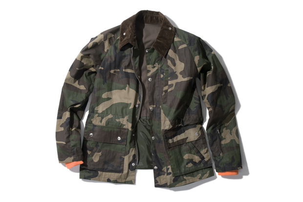 SOPHNET. Paraffin Cloth Field Jacket