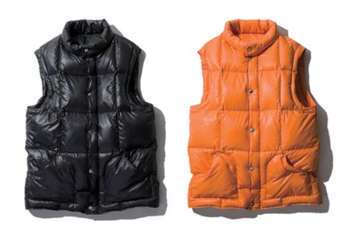 SOPHNET. 2010 Fall/Winter RIPSTOP TAFFETA LIGHT WEIGHT DOWN VEST