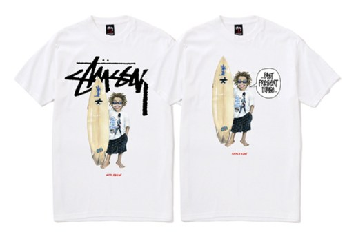 Stussy x APPLEBUM Surfman Tee