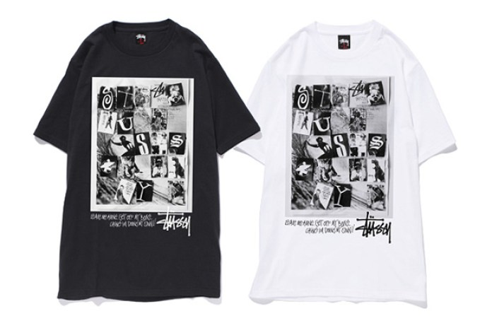"Stussy 2010 Fall Exclusive Tee Collection Round 1 ""Grid Arts"""
