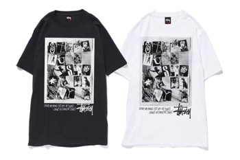 """Stussy 2010 Fall Exclusive Tee Collection Round 1 """"Grid Arts"""""""