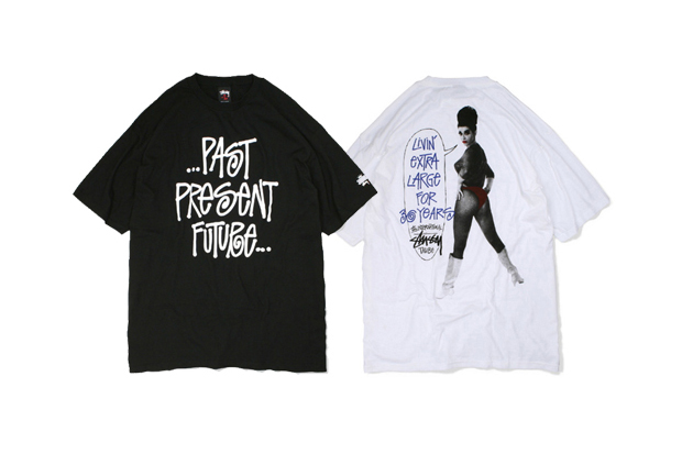 Stussy Livin' XL Tee Mobile Chapt Exclusive