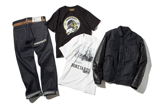 "Stussy x NEIGHBORHOOD Boneyards II ""Conspiracy"" Apparel"
