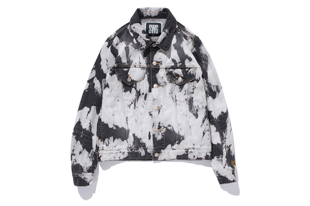 swagger Bleach Denim Jacket