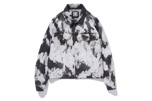swagger Bleach Denim Jacket