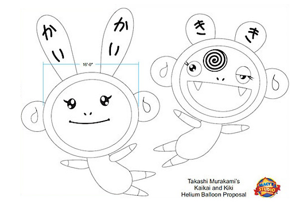 Takashi Murakami for Macy's Thanksgiving Day Parade Announcement