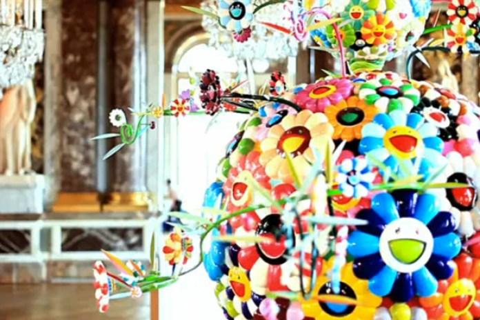 Takashi Murakami Exhibition @ The Chateau de Versailles Video