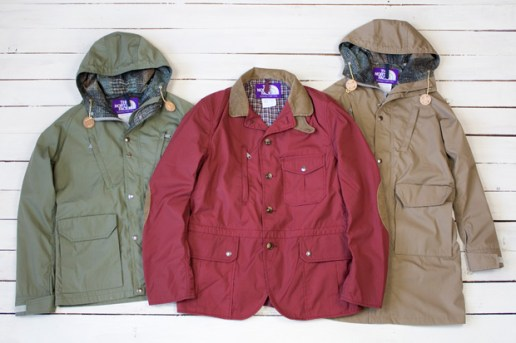 "THE NORTH FACE PURPLE LABEL 2010 Fall/Winter ""65/35 Bayheadcloth"" Collection"