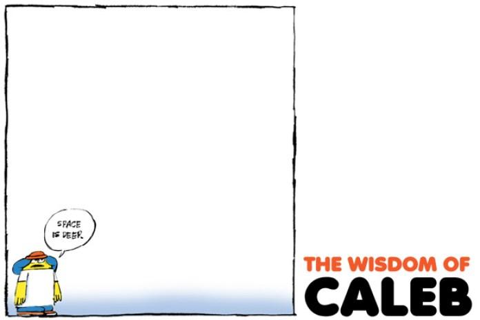The Wisdom of Caleb