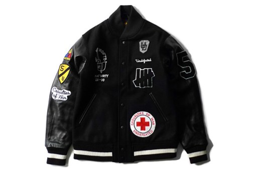 UNDFTD 2010 Fall/Winter Stadium Patch Varsity Jacket