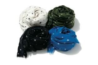 uniform experiment Cashmere Silk Star Stole