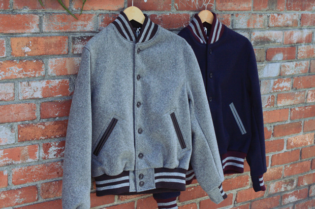 Golden Bear x Unionmade Melton Wool Varsity Jackets