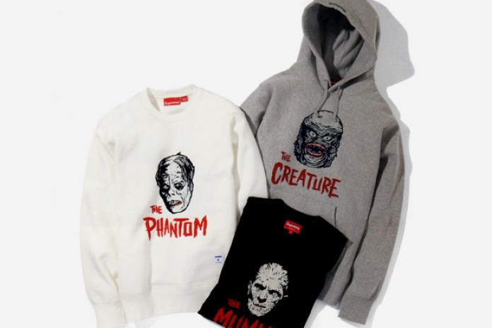 "Supreme x Universal Studios ""Universal Monsters"" Collection"