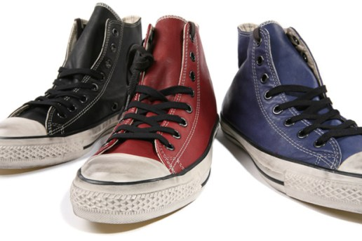 Converse by John Varvatos Leather Chuck Taylor Hi