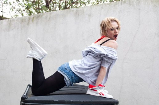 Vice Magazine: Reebok Fly Generation 2010 Fall/Winter Collection featuring Uffie
