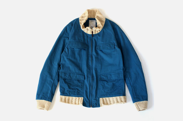 visvim REDWOOD KNIT COLLAR Jacket