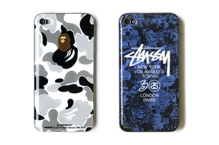 zozotown Design Project Vol. 2 - Bape and Stussy iPhone 4 cases
