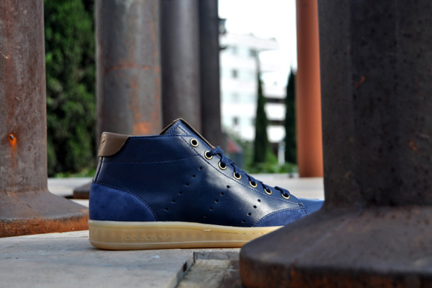 "adidas Originals Stan Smith 80s Mid Casual ""Dark Indigo"""