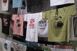 Ai Weiwei for Dover Street Market Installation and T-shirt Collection