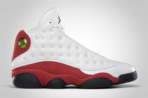 Air Jordan XIII Retro White/Black/Varsity Red