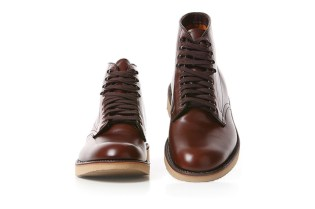 "Blackbird x Alden Tugger Work Boot ""Medium Brown"""