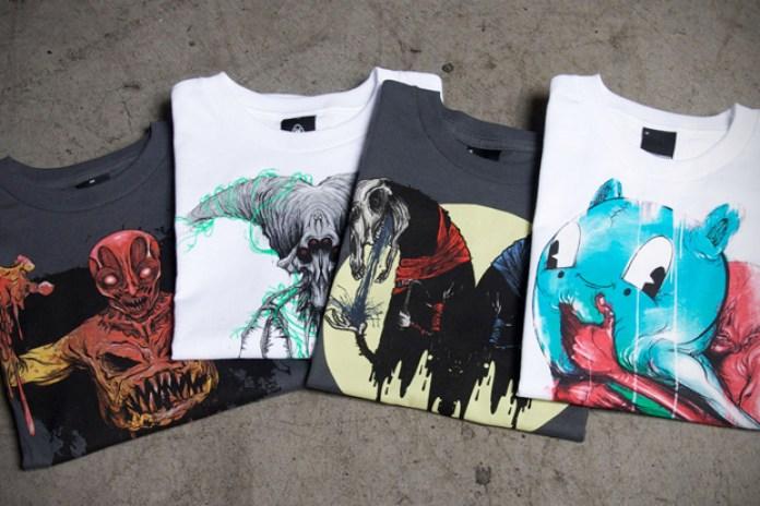 Upper Playground x Alex Pardee T-Shirt Collection