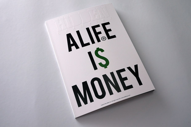 "ALIFE x HIDDEN CHAMPION BOOK Vol.2 ""ALIFE IS MONEY"""