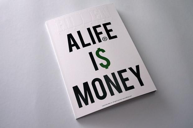 """ALIFE x HIDDEN CHAMPION BOOK Vol.2 """"ALIFE IS MONEY"""""""