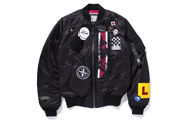 swagger x Alpha Industries MA-1 Jacket