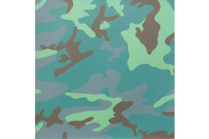 "Andy Warhol ""Camouflage"" Exhibition @ Honor Fraser"