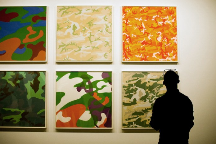 """Andy Warhol """"Camouflage"""" Exhibition @ Honor Fraser Recap"""