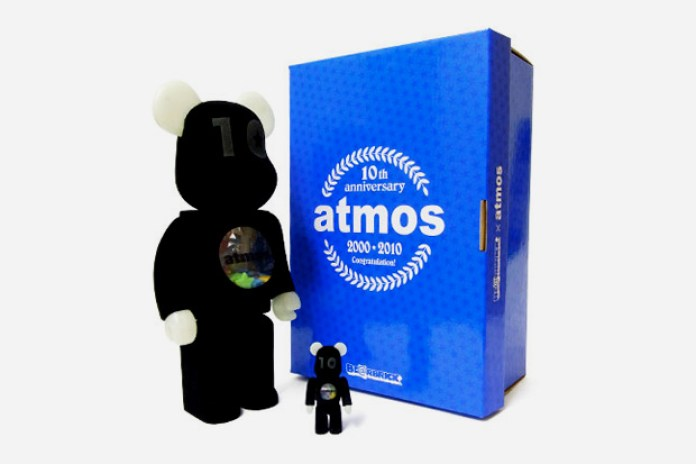 atmos x MEDICOM TOY BEARBRICK 10th Anniversary