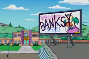 Banksy x The Simpsons Opening Sequence
