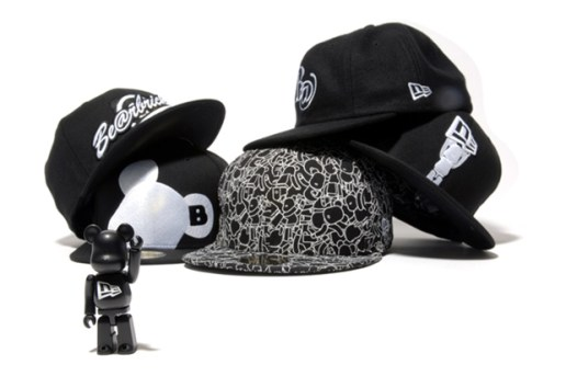 Bearbrick x New Era 59Fifty Fitted Caps