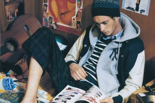 """Beauty & Youth United Arrows 2010 Fall/Winter """"Day by Day"""" Editorial"""