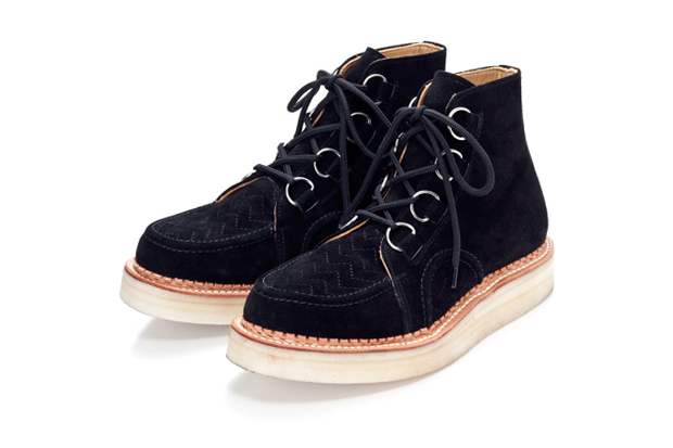 Billionaire Boys Club 2010 Fall/Winter SPACE BEACH SUEDE CREEPER BOOTS